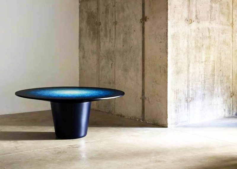 Ocean terrazzo table by Brodie Neill