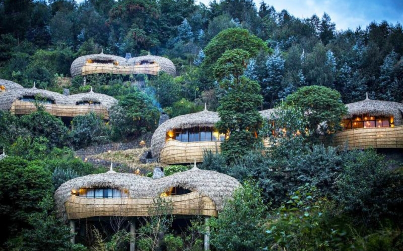 Bisate Lodge: Majestic resort for campers opens in Rwanda's wilderness