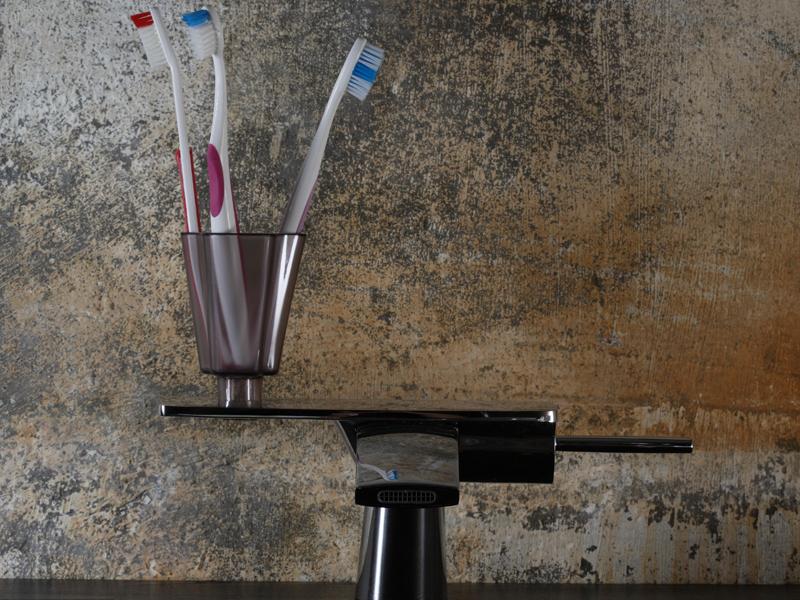Car-inspired faucet