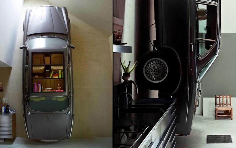 20 car-inspired interior décor ideas for automotive fans