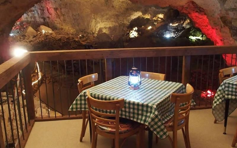 Cavern Grotto lets you dine 200-feet underground in a natural cave