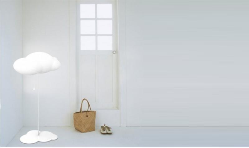 floor cloud lamp