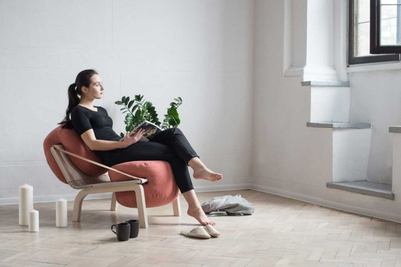 Dango flexible armchair