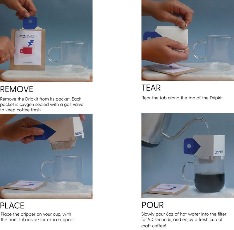 Dripkit coffee - portable coffee kit
