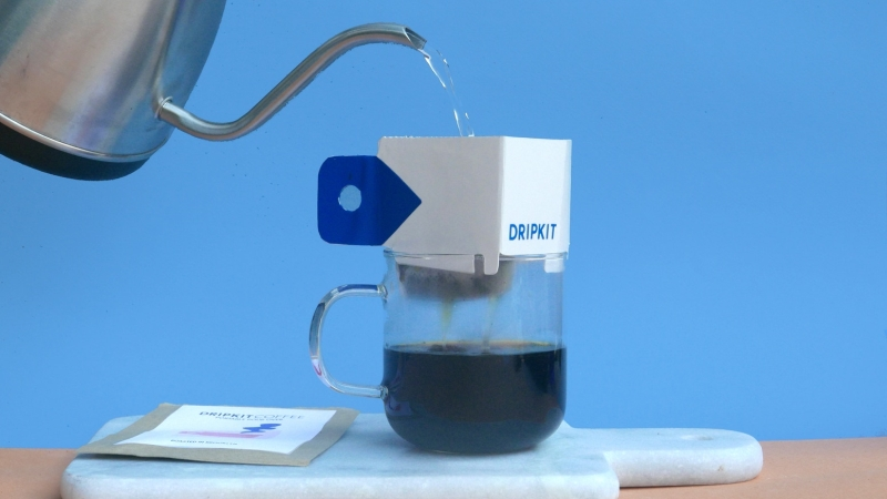 Dripkit pocket coffee – A cup of joe anytime, anywhere