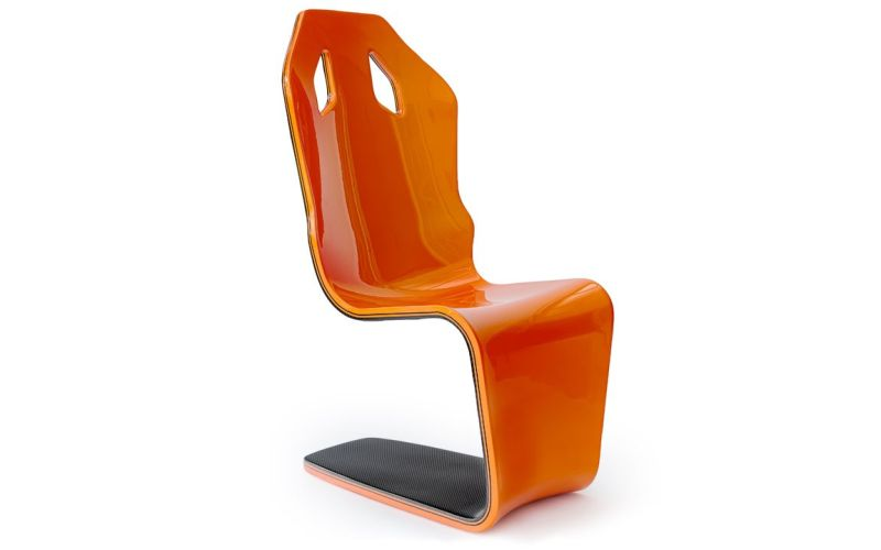 F1 Carbon Fiber Lounge Chair by philip Caggiano