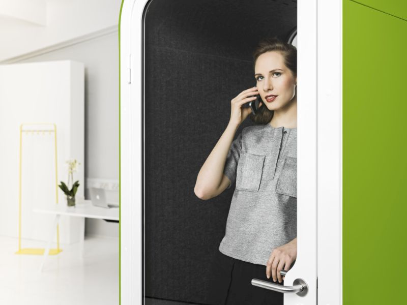 Framery Phone booth to eliminate noise in offices