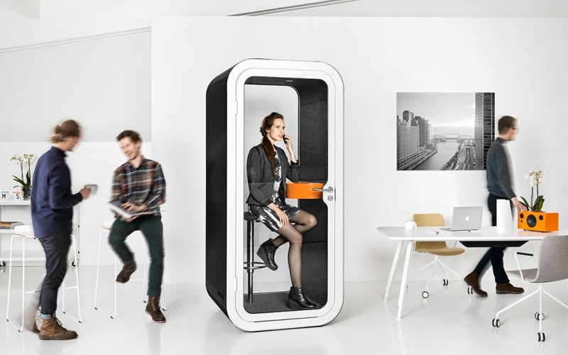 Get rid of distracting workspace noises with Framery's office pod