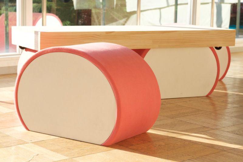 Kamaboko-inspired furniture