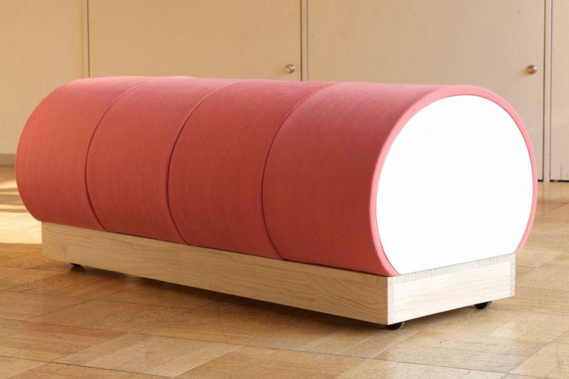 Kamaboko-inspired table