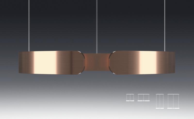 Mito pendant light by Occhio