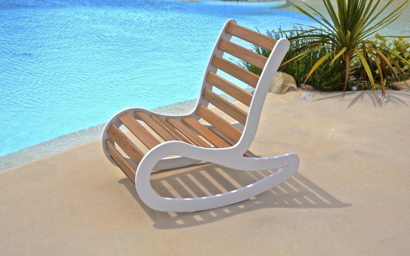 Peppouze outdoor armchair combines comfort, aesthetics, and functionality