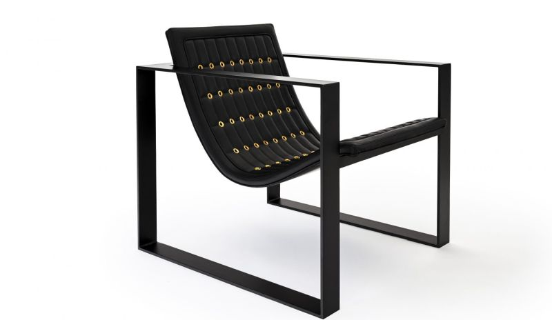Philip Caggiano GT lounge chair