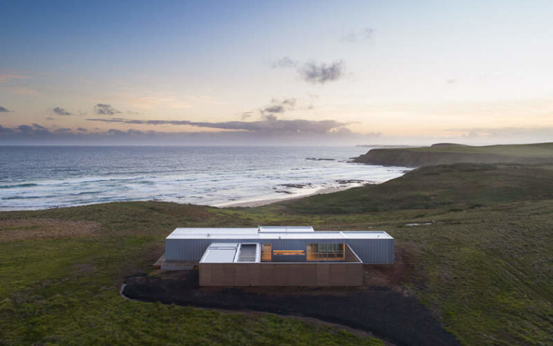 Modscape prefab modular home designed to live the coastal dream