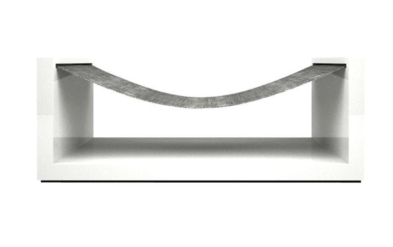 White hammock by Rechteck