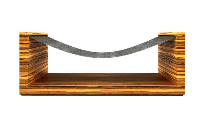 Zebrano hammock by Rechteck