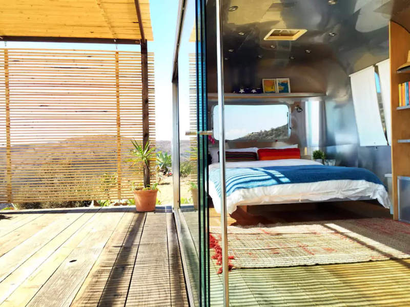 Rent this Airstream trailer from Taylor Swift's Vogue photo shoot at Airbnb