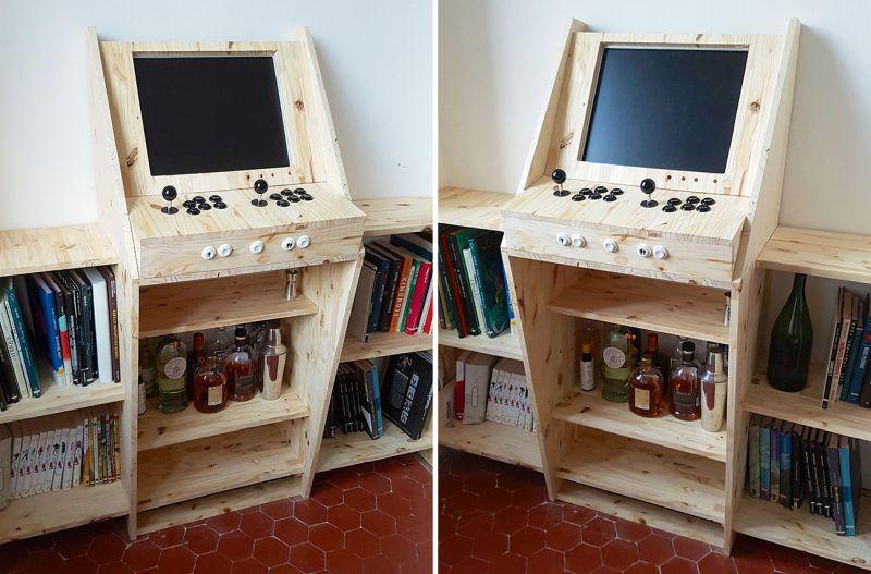 Retrogaming Arcade Cabinet DIY
