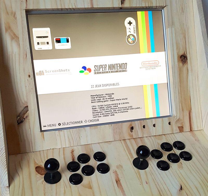 Retrogaming Arcade Cabinet has bookshelves and home bar - HomeCrux