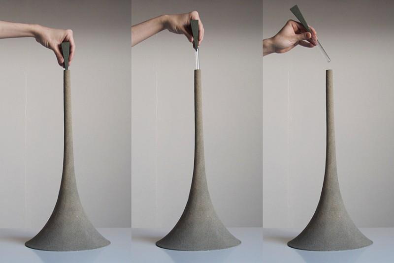 Sand Vase by Yukihiro Kaneuchi