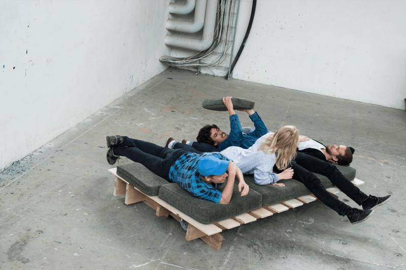 Sleeping Sofa Prototype