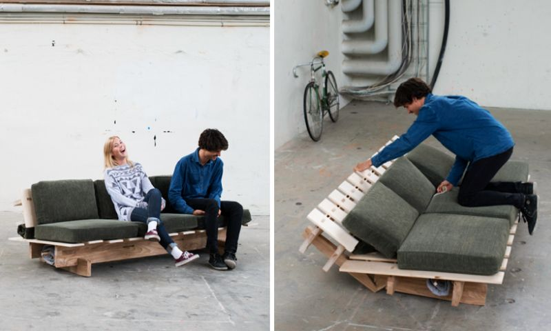 Sleeping Sofa Prototype