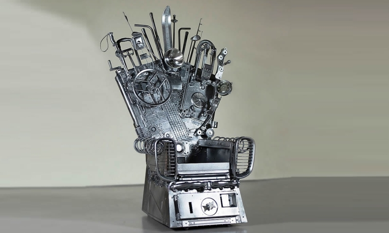 Urban Warrior's Throne is a recycled version of the Iron Throne