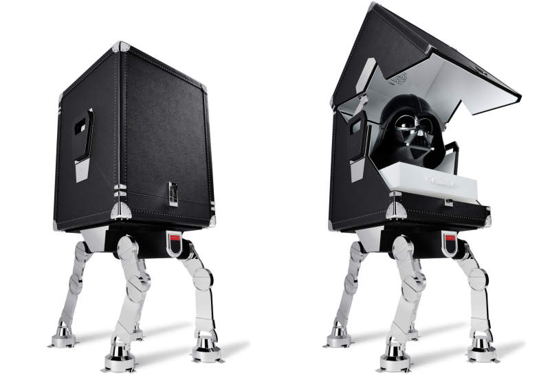 T.T. TRUNKS' Darth Trunk stands on AT-AT legs