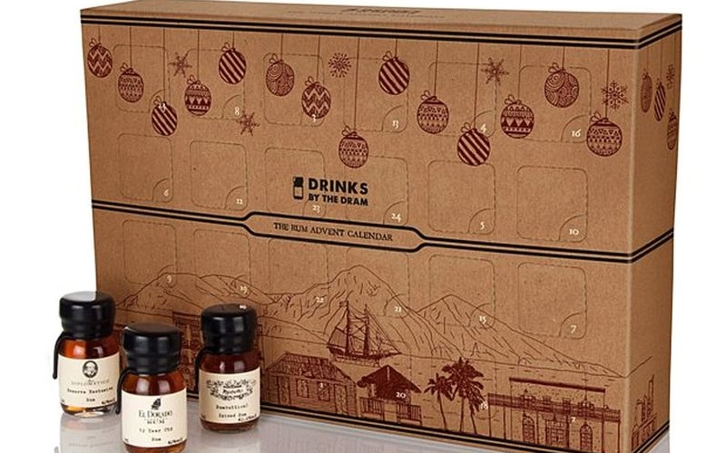 This rum-filled calendar will make drink lover's Christmas more exciting