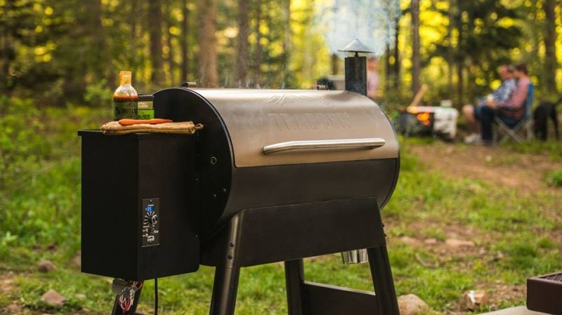 Control traeger s smart timberline wifire grill with your for Smart bbq grill light