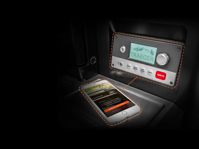 Timberline WiFire Grill Connects to your phone's Wi-Fi