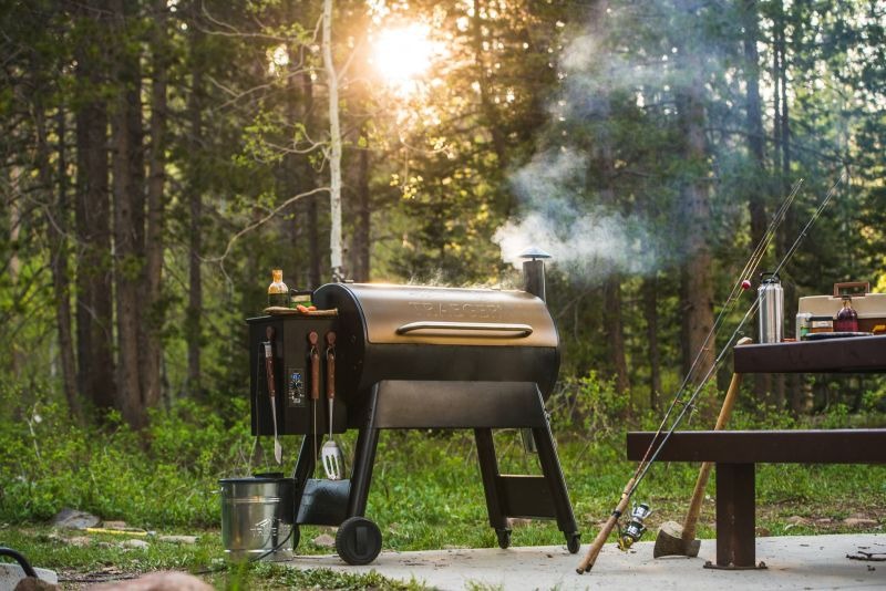 Smart Timberline WiFire Grill