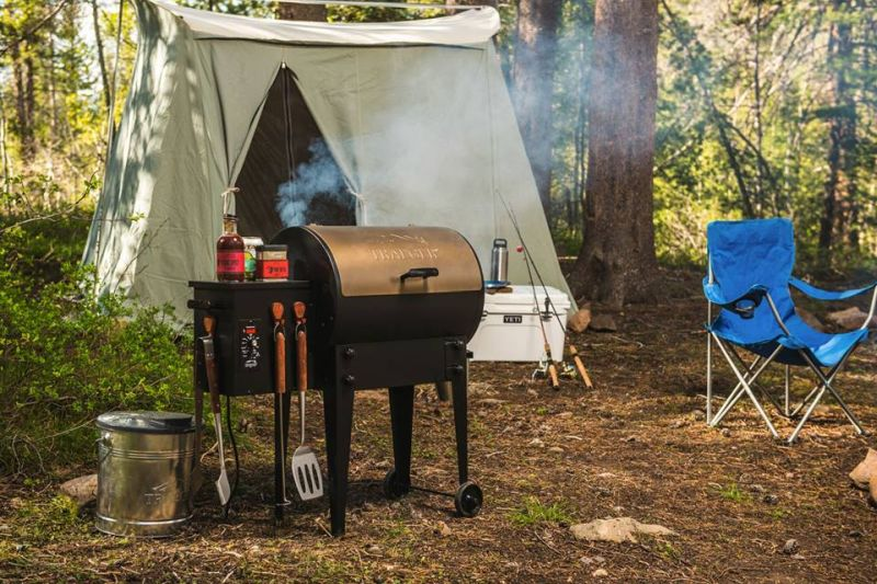 Timberline WiFire Grill is Ideal for camping