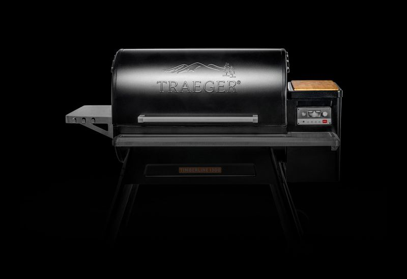 Traeger's smart Timberline WiFire Grill