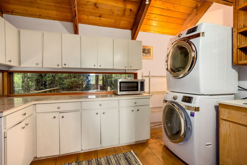 Treehouse Tower laundry area