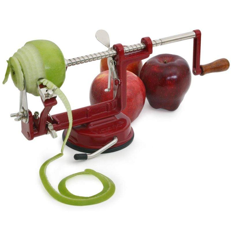 Unique apple peeler