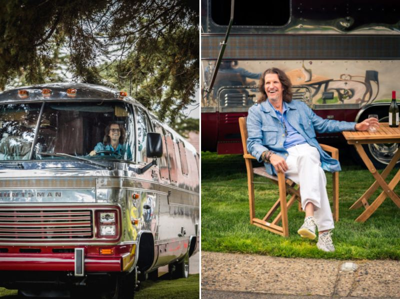 Airstream bus huntsman studio