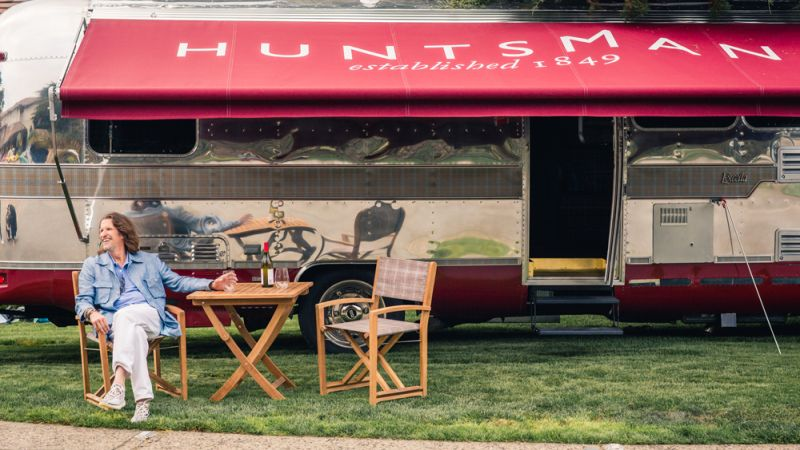 Airstream mobile-tailoring studio of huntsman