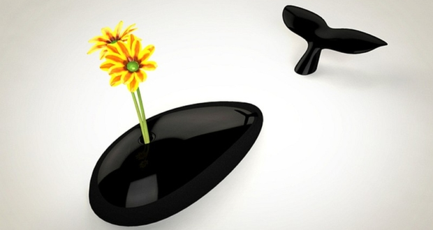 Whale flower vase by Clever Design