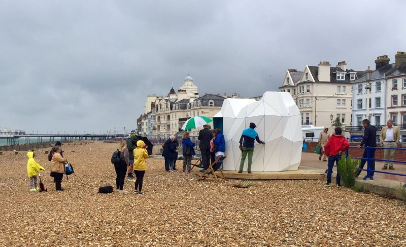 What Unearthed Beach Hut