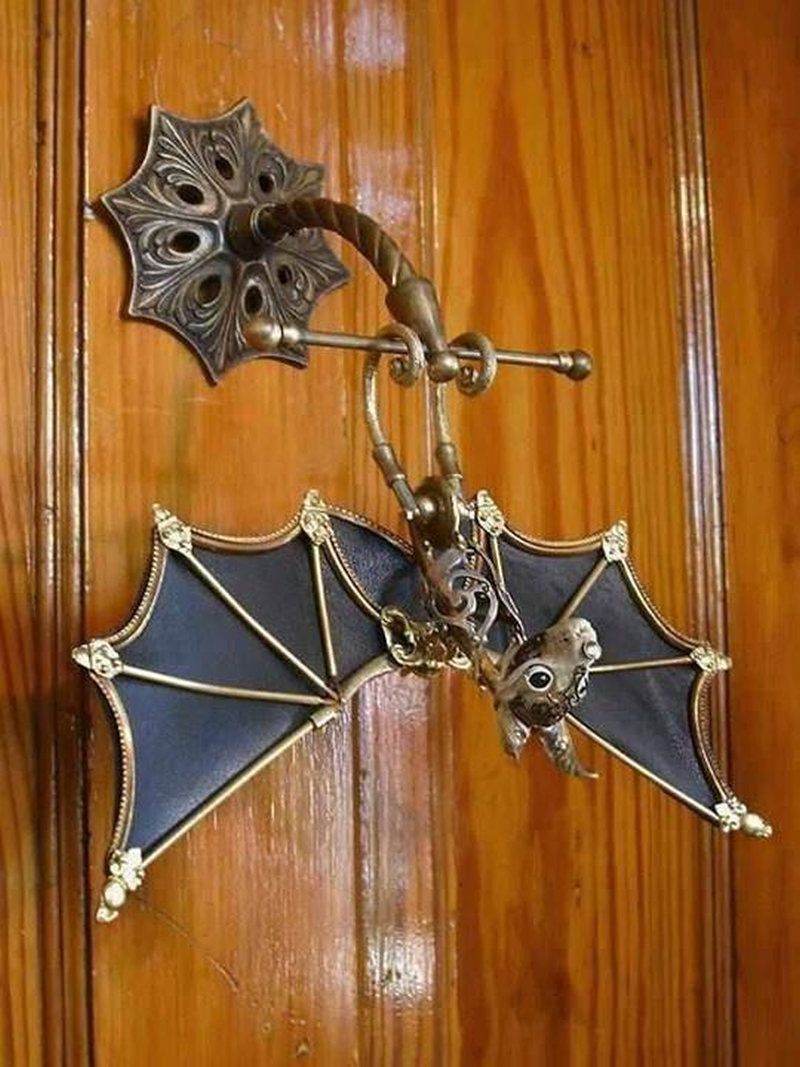 bat door knocker