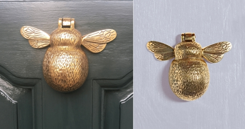 Superbe #8 Bumblebee Shaped Door Knocker Is A Unique And Beautiful Door Accessory  Crafted From Solid Brass. The Little Wings And Intricate Details Are A  Perfect ...