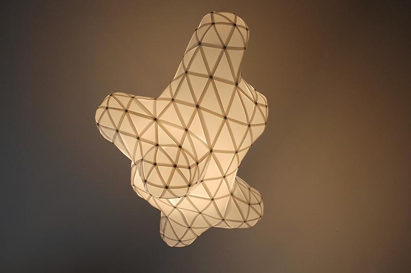 plastic cloud lamp