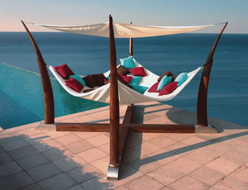 Cocoon Hammock Terrace Base Henry Hall Design ...