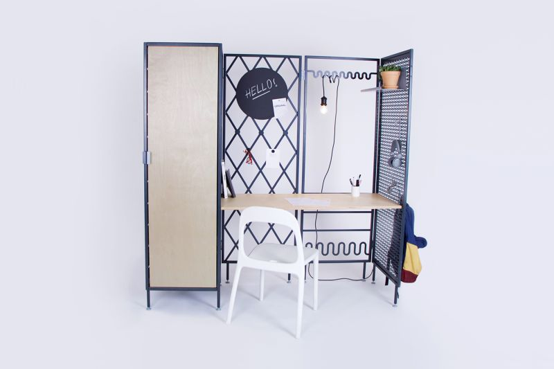 Patchwork furniture Comes with electric fittings