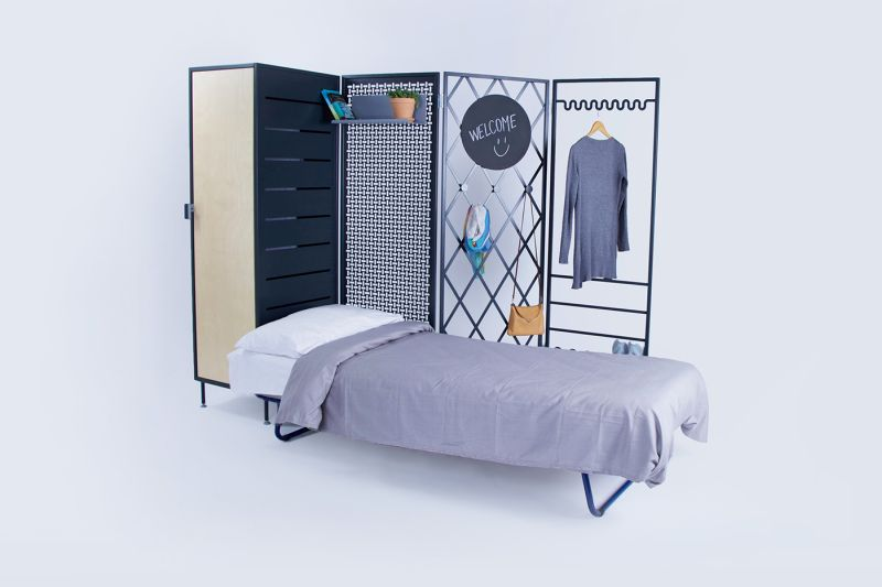 Patchwork furniture is a Flexible personal space