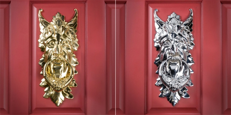 32 Unique Door Knockers To Beautify Your Front Door