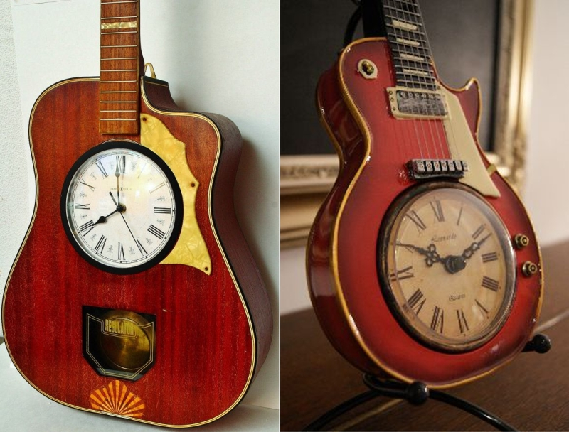 16 Creative Ways To Recycle Old Guitar Into Home Décor Items