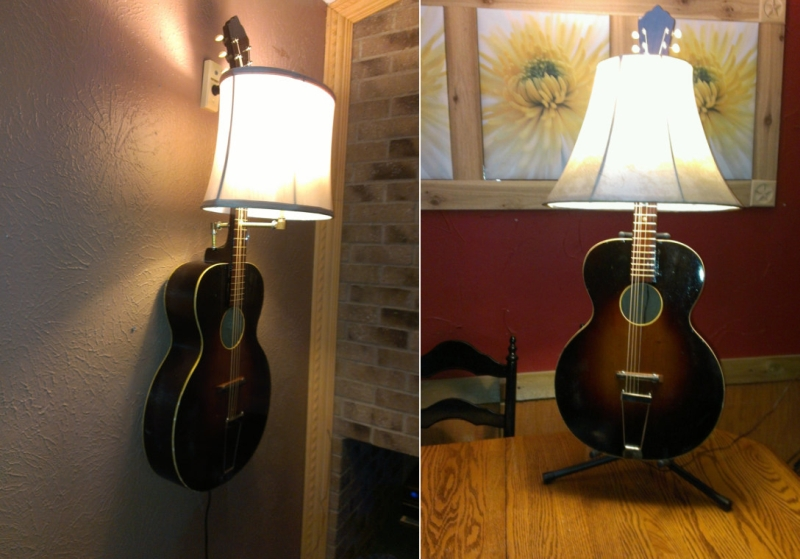 guitar light lamp