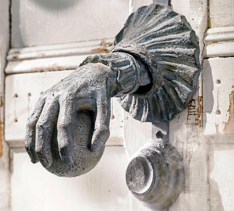 haunted door knocker